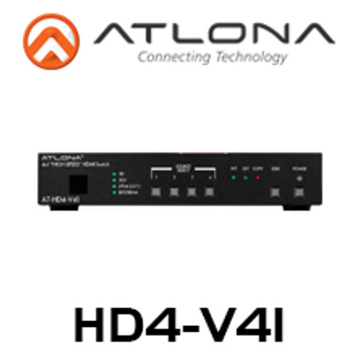 Atlona 4 Input HDMI Switcher with 3D and ARC