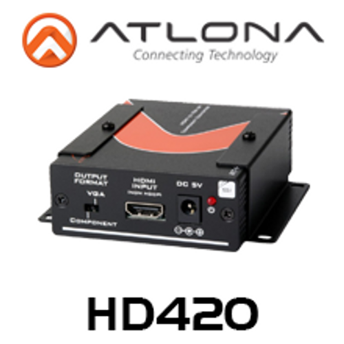 Atlona HDMI to VGA / Component and Stereo Audio Format Converter