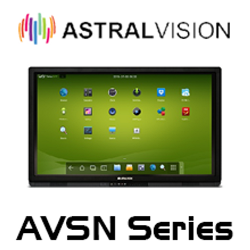 "AstralVision 55"" - 84"" LED Interactive Display with Touch Integration"