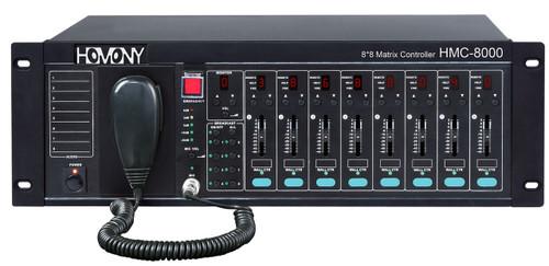 Homony HMC-8000 8x8 Audio Matrix Controller & Amplifier
