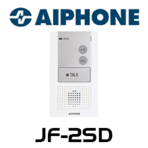 Aiphone JF-2SD Audio Only Sub Station