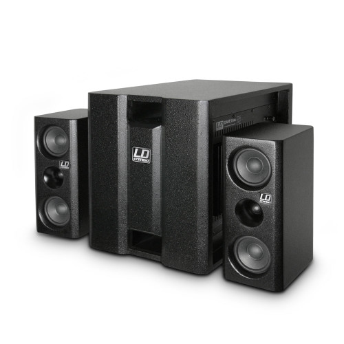 LD Systems DAVE8XS 700W 2.1 Compact Active PA System