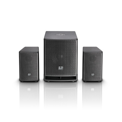 """LD Systems DAVE10G3 10"""" 700W 2.1 Compact Active PA System w/ DSP"""