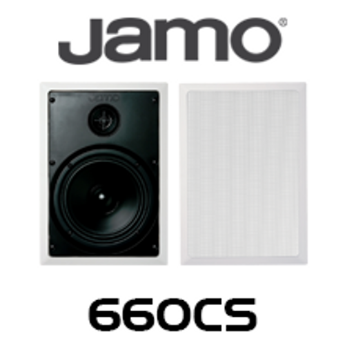 "Jamo 660CS 6.5"" Polypropylene In-Wall Speakers (Pair)"