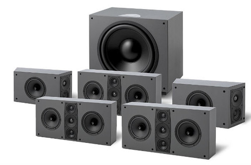 Jamo D600 5.1 THX Ultra2 Home Theatre System