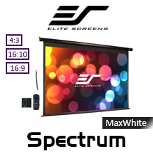 "Elite Screens Spectrum MaxWhite Motorised Projection Screens (84 -180"")"