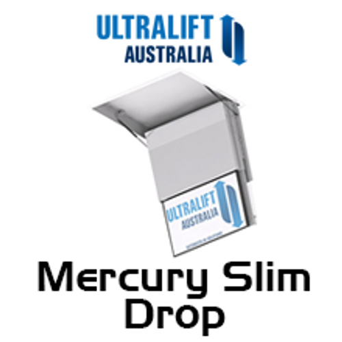 Ultralift Mercury Slim With Extra Drop Ceiling TV Lift