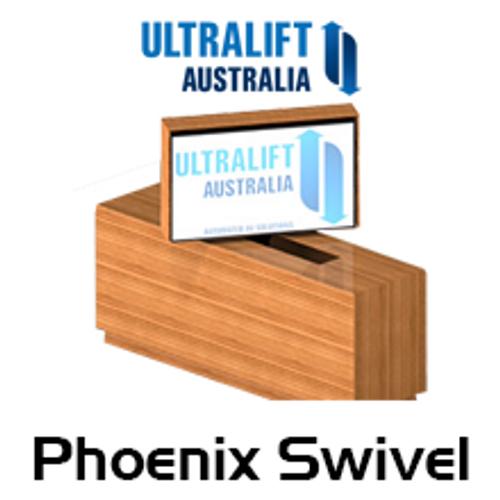 "Ultralift Phoenix Swivel LCD Screen Lift With Manual Swivel (Up to 42"")"