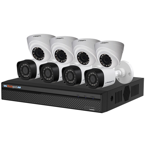 WatchGuard Compact 8 Channel 1.0MP Surveillance Kit