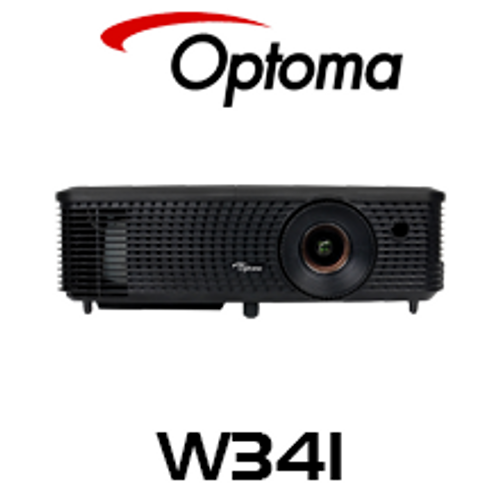 Optoma W341 WXGA 3600 Lumens Business Portable DLP Projector