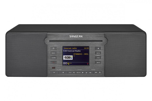 Sangean DDR-66BT Internet Radio / CD / SD / USB Media Tabletop Radio