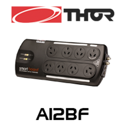 Thor A12BF 8 Way Smart Powerboard With Dynamic Active Tracking Circuitry