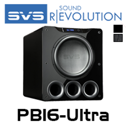 "SVS PB16-Ultra 16"" 1500W RMS Ported Subwoofer With Variable Tuning"