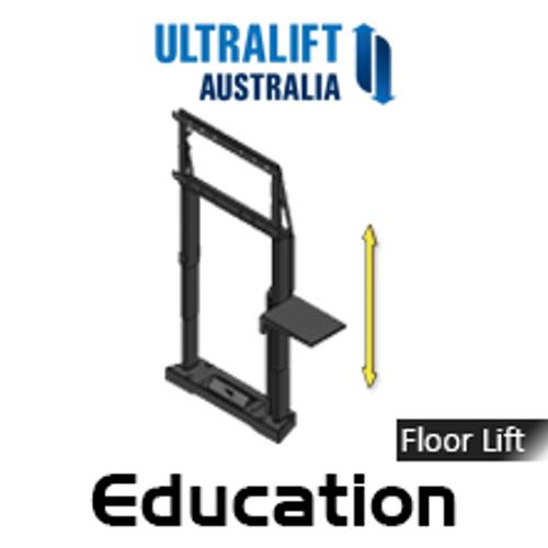 "Ultralift Education 60-90"" Flat Display Floor Lift"