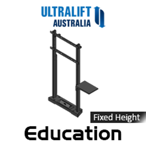 """Ultralift Education 60-90"""" Flat Display Fixed Height Floor Stand"""