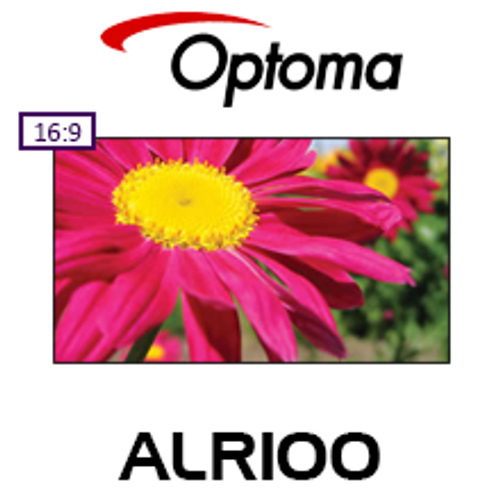 "Optoma ALR100 100"" CBSP Fixed Frame Projection Screen"