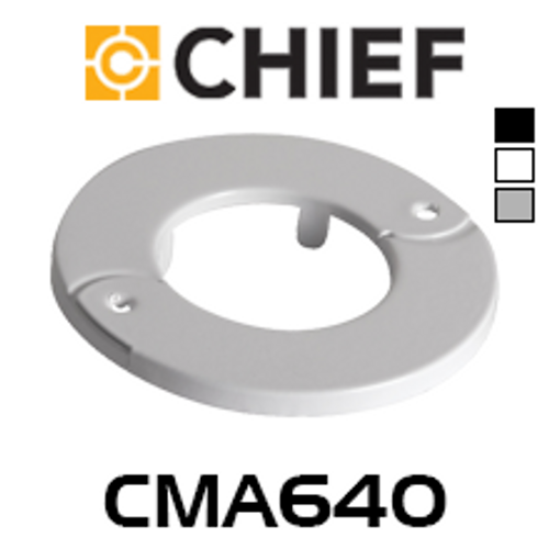 Chief CMA640 Decorative Ring for CMS/CPA Fixed/Inner Adjustable Column