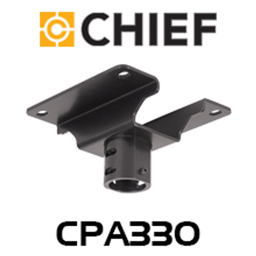 """Chief CPA330 Pin Connection 8"""" Offset Ceiling Plate"""