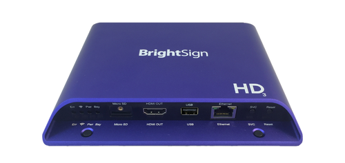 BrightSign HD1023 Expanded I/O Full HD Interactive Digital Signage Media Player