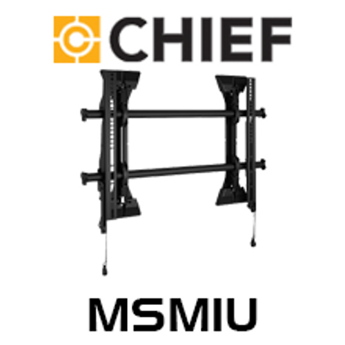 "Chief MSM1U Medium 26-47"" Fusion Micro-Adjustable Fixed TV Wall Mount"