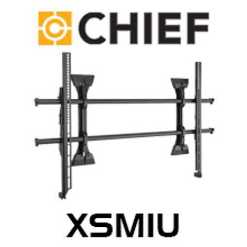 "Chief XSM1U X-Large 55-82"" Fusion Micro-Adjustable Fixed TV Wall Mount"