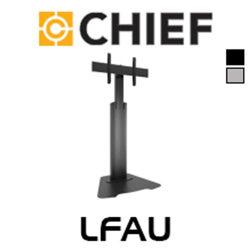 """Chief LFAU Large 40-80"""" Flat Display Height Adjustable Floor Stand"""