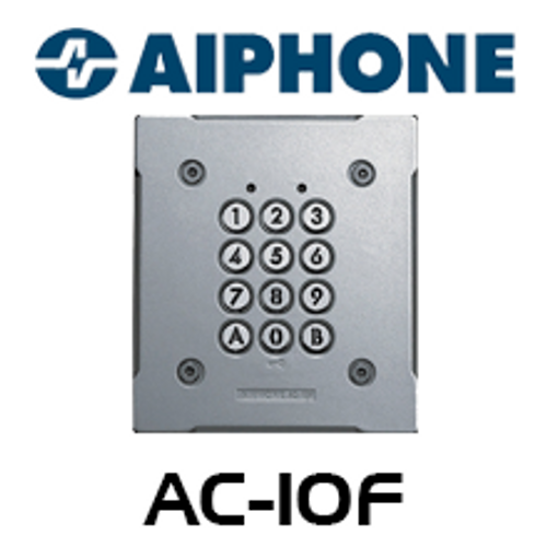 Aiphone Flush Mount Access Control Keypad