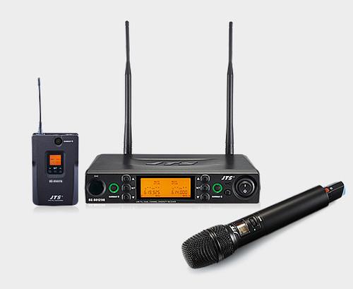 JTS 8012DB 2-CH Diversity UHF Wireless Microphone System