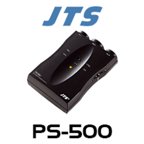 JTS PS-500 Battery Powered XLR Phantom Power Supply