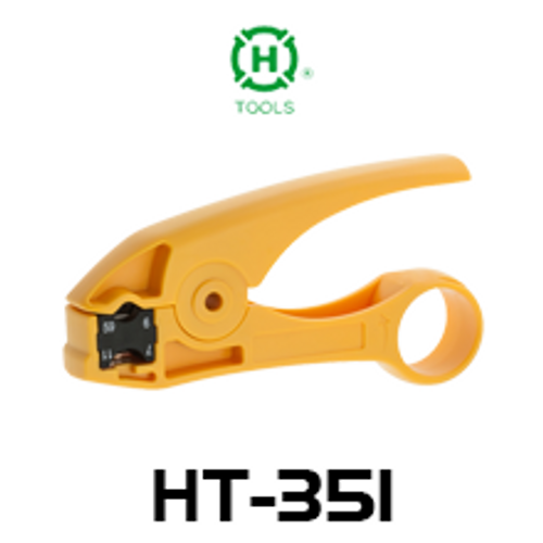 Hanlong HT-351 Coaxial Cable Stripper For RG59, RG6, RG7 & RG11