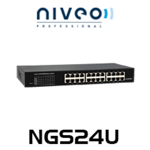 Niveo NGS24U 24-Port Gigabit Ethernet Switch
