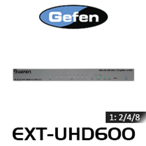 Gefen 1:2/4/8 4K Ultra HD 600MHz HDMI Splitter With HDR