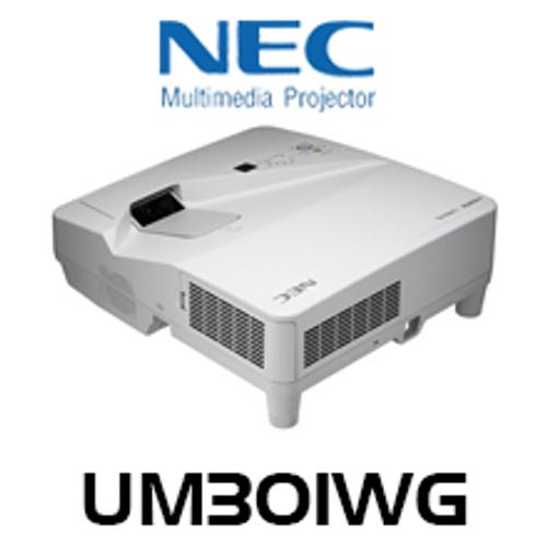 NEC UM301WG 3000 Lumens WXGA Ultra Short Throw LCD Projector