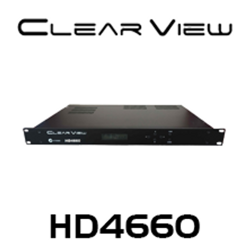 ClearView HD4660 Full HD (MPEG4) Quad DVBT Modulator