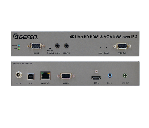 Gefen 4K Ultra HD HDMI & VGA KVM Over IP Switcher