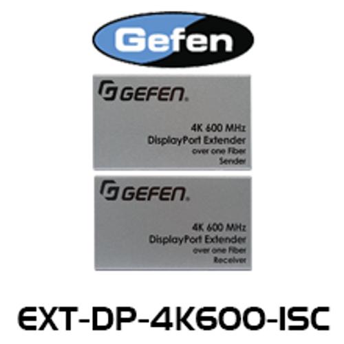 Gefen 4K Ultra HD 600MHz DisplayPort Extender Over Fiber Optic