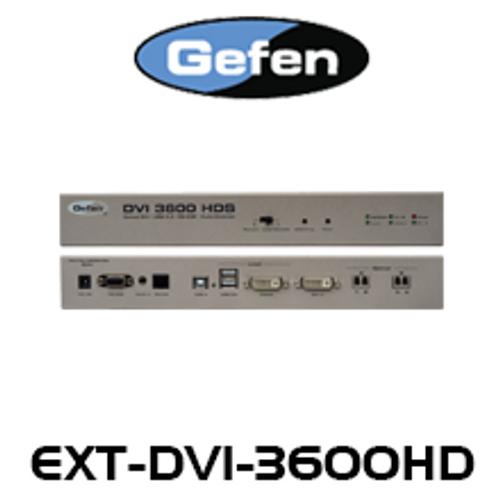 Gefen DVI Optical Extender w/ USB, RS-232 & Analog Audio (up to 2km)