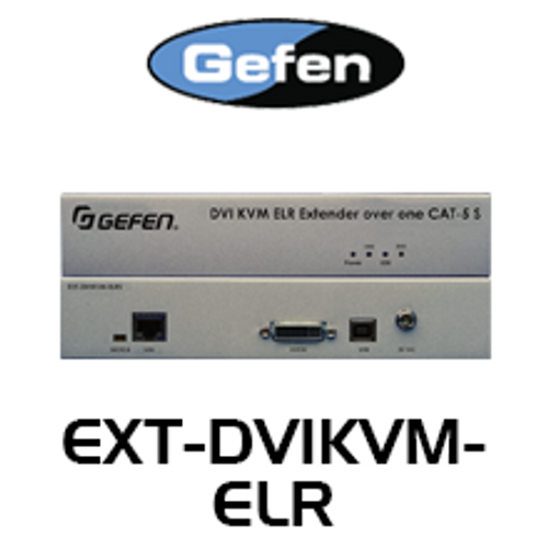 Gefen DVI & USB KVM Extra Long Range Extender Over Cat5 (up to 100m)