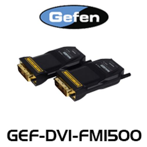 Gefen FM1500 DVI Extender Over Fiber Optic w/ Recordable EDID (up to 1km)