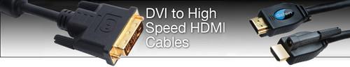 Gefen DVI to HDMI Locking Cable (M-M)