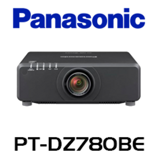 Panasonic PT-DZ780BE WUXGA 7000 Lumen Dual Lamp 1-Chip DLP Projector