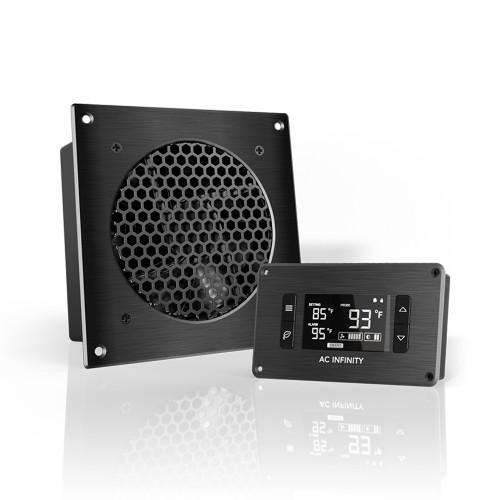 AC Infinity AP3TBKit 120mm Airplate T3 AV Cabinet Cooling Fan Kit