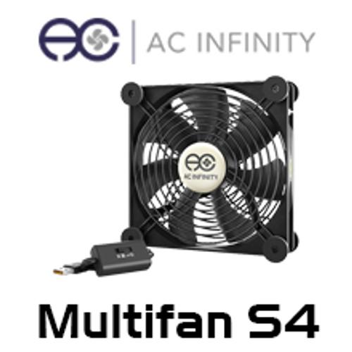 AC Infinity Multifan S4 140mm Quiet USB Cooling Fan