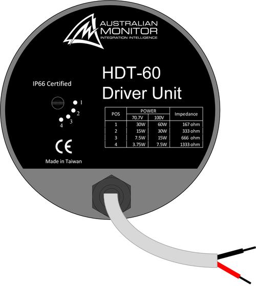 Australian Monitor H16 16 U0026quot  High Output Round Horn Speaker