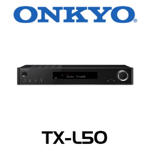 Onkyo Envision TX-L50 5.1-Ch 4K Ready Slimline Network AV Receiver