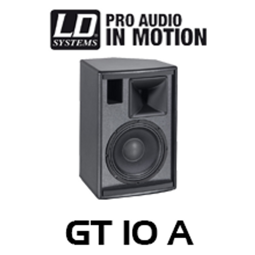 "LD Systems GT10A 10"" 800W Active Fullrange PA Speaker (Each)"