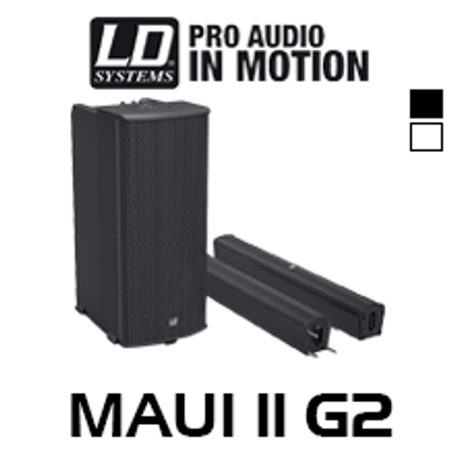 "LD Systems MAU11 G2 Trio 6.5"" 1000W Portable Column PA System w/ Mixer & Bluetooth"