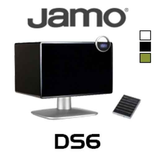 Jamo DS6 Bluetooth Tabletop Speaker w/ Digital Clock Radio (Each)