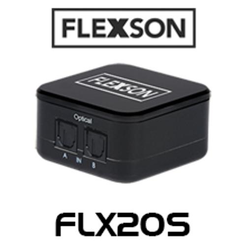 Flexson FLX2OS 2/4-Way Digital Audio Switcher for Sonos Soundbar