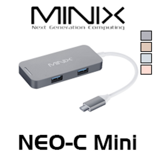 Minix NEO-C Mini HDMI Output USB-C Multiport Adapter